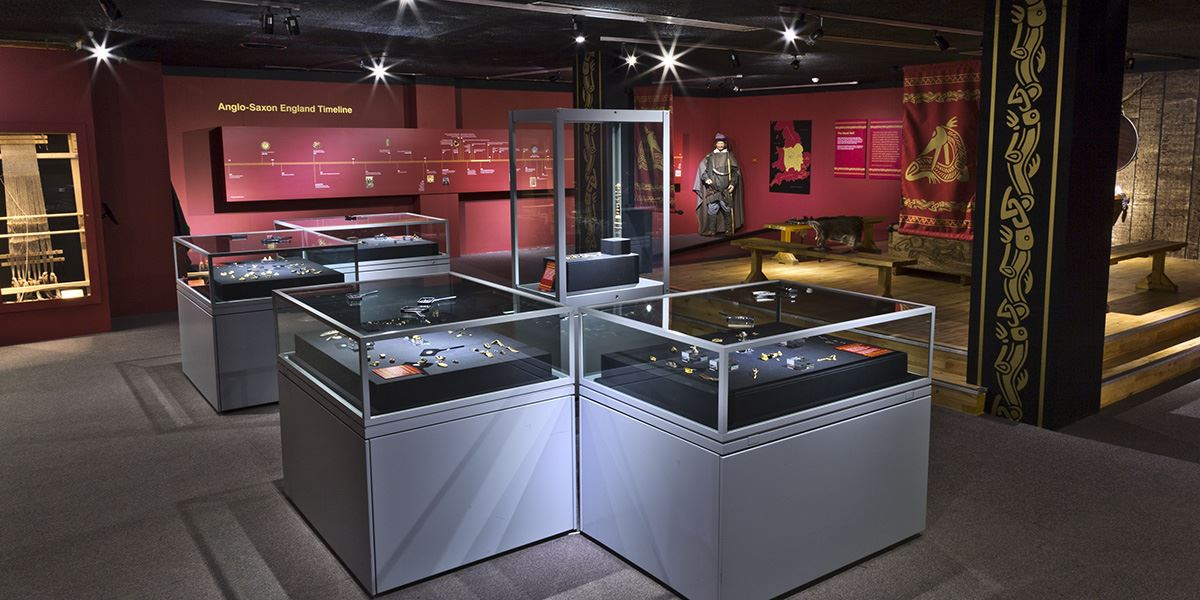 The Staffordshire Hoard at The Potteries Museum & Art Gallery