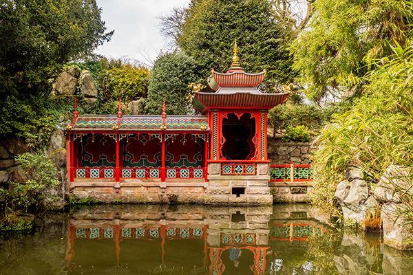 China Garden at Biddulph Grange, near Stoke-on-Trent
