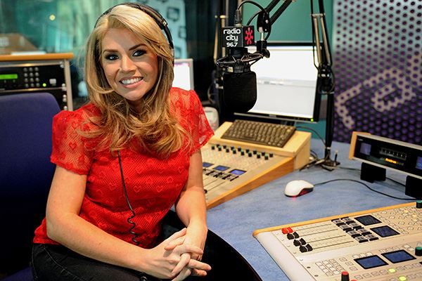 Leanne Campbell hosting the Radio City Breakfast Show