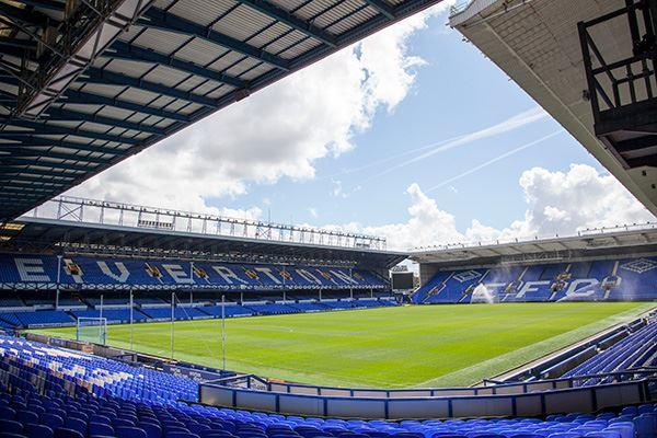 Goodison Park, home of Everton FC