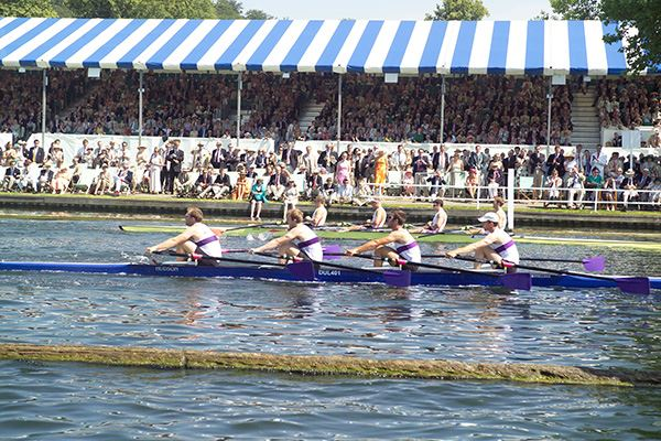 Grandstand Race at the Henley Royal Regatta