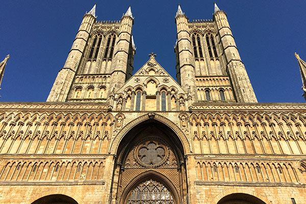 Enjoy the majestic architecture of Lincoln Cathedral