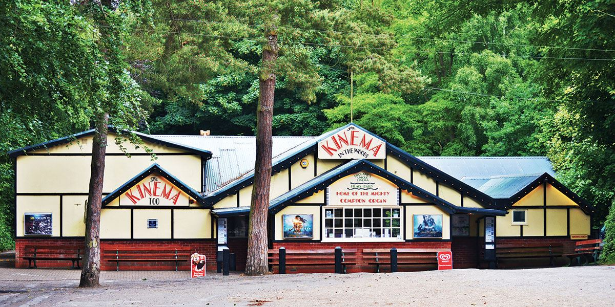 Take a trip back in time and watch a film at Kinema in the Woods at Woodhall Spa