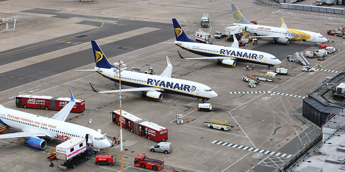East Midlands Airport is about 20 miles north of Leicester