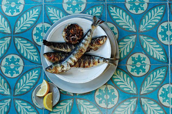 Sardine dish at Gee's