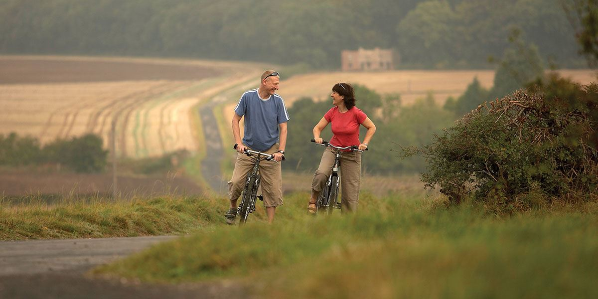 Enjoy the region's fantastic countryside any way you please