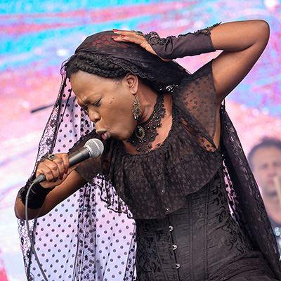 Moonlight Benjamin at Africa Oyé