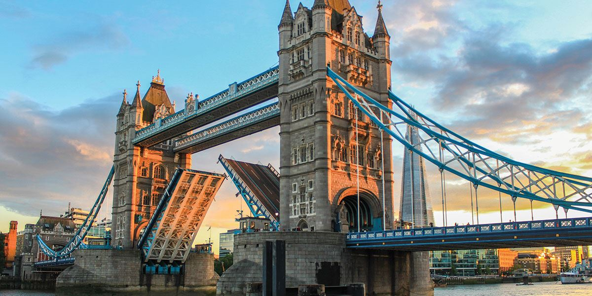 Head to London for the day, you won't be disappointed