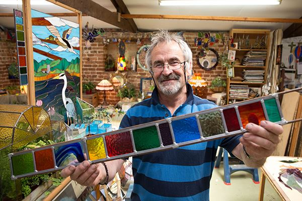 Visit Coastal Stained Glass at Wroxham Barns