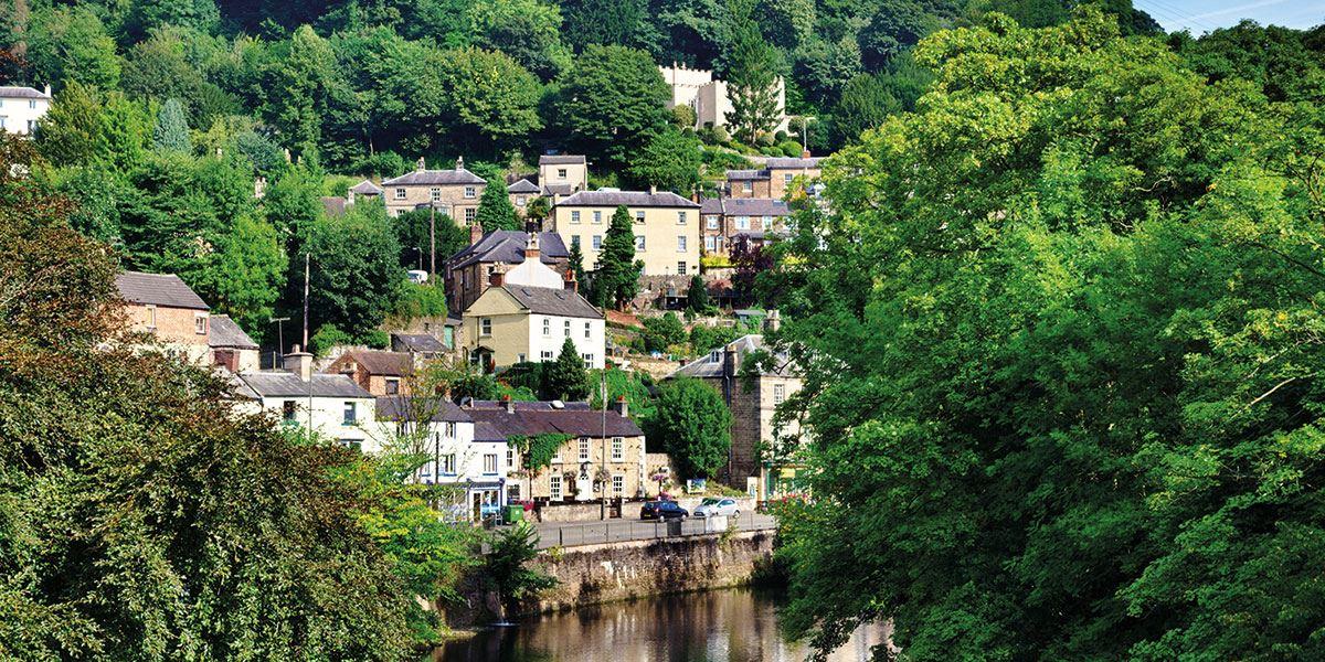 Visit the beautiful town of Matlock Bath