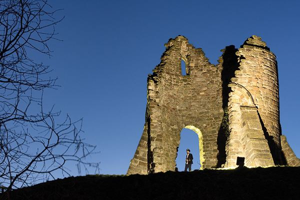 Watch out for ghosts at Tutbury Castle