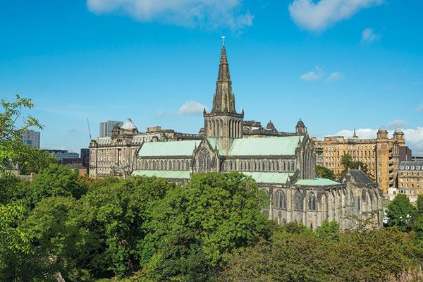 Take in the beauty of Glasgow Cathedral