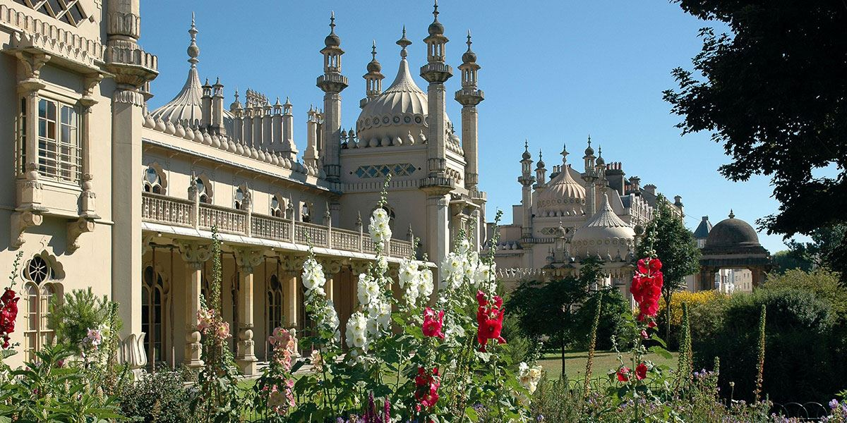 Start your tour of the region with a bit of history at the Royal Pavilion