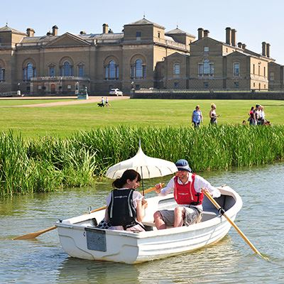 Row a boat at Holkham Hall