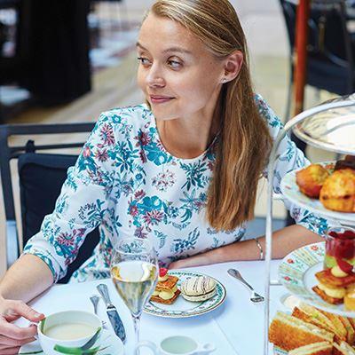 Indulge in afternoon tea