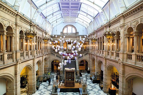 The Kelvingrove Art Gallery and Museum is a must see