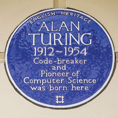 Alan Turing, 2 Warrington Crescent, Maida Vale, Westminster