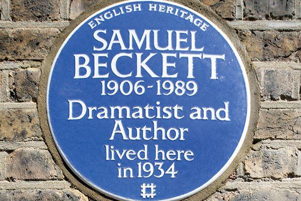 Samuel Beckett, 48 Paultons Square, Chelsea