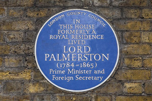 Lord Henry John Palmerston at 94 Piccadilly, Mayfair