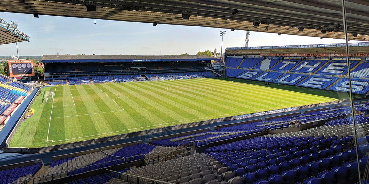 St. Andrew's Stadium is the home of Birmingham City F.C.