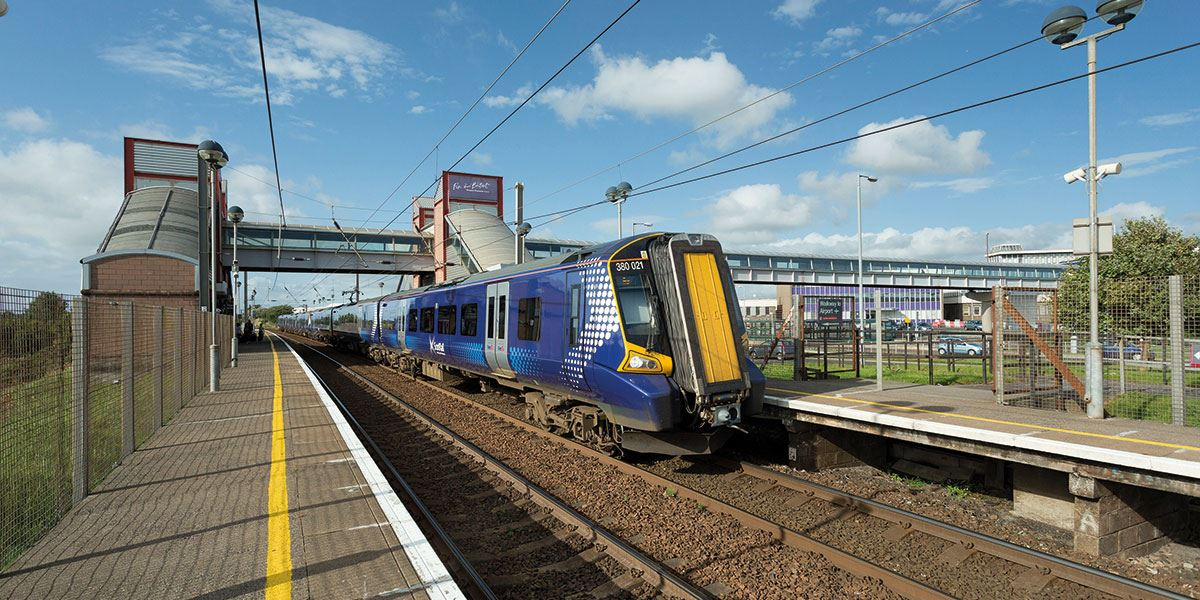 Glasgow Prestwick Airport has a train link to the city centre