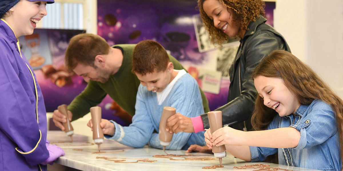 Experience all things chocolate at Cadbury World