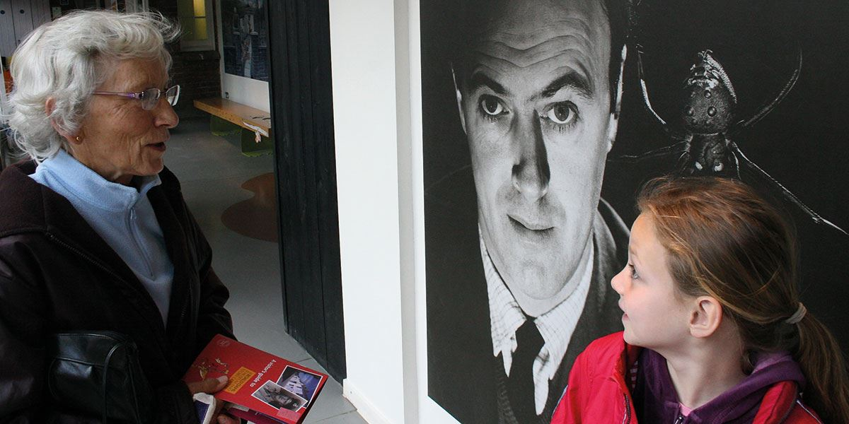 Learn about one of the best-loved children's authors at The Roald Dahl Museum and Story Centre