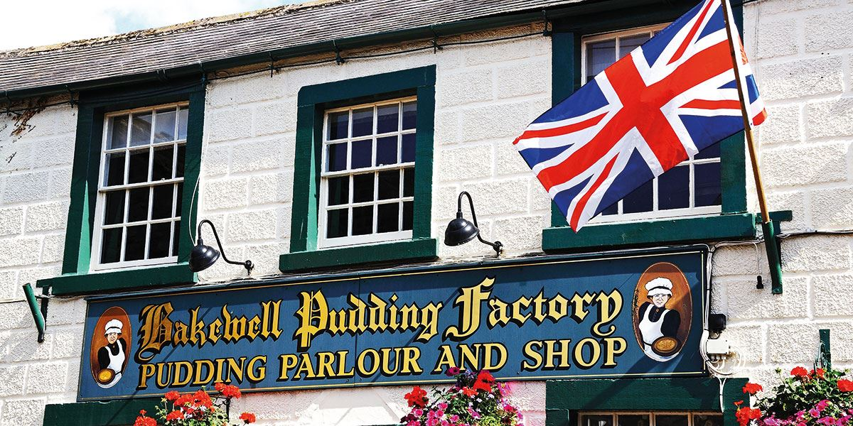 A trip to Bakewell means you must sample the world-famous Bakewell Pudding