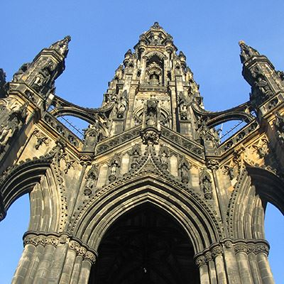Put the Scott Monument on your sightseeing list