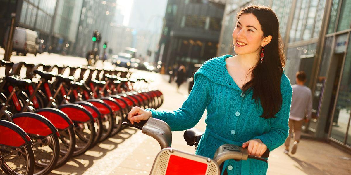 Take advantage of the Santander Cycles scheme