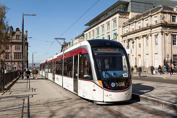 Get around by tram with Edinburgh Trams