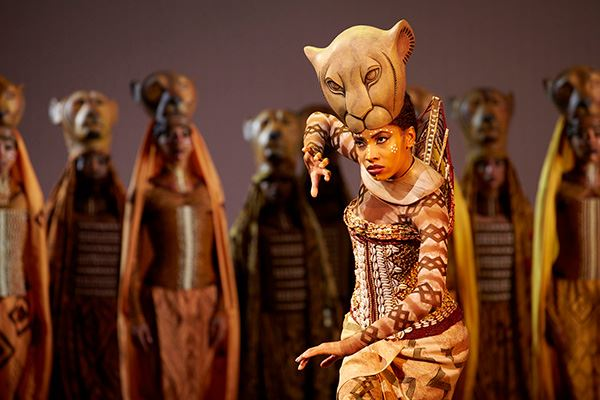 Lion King musical in London's West End
