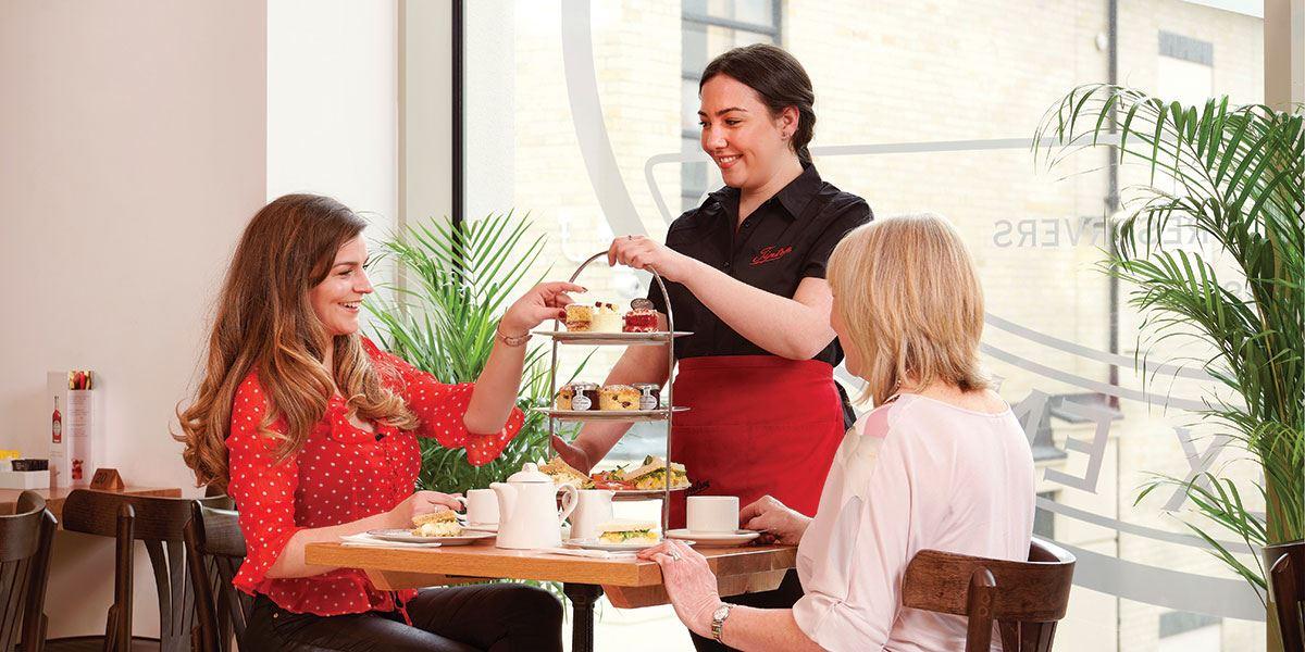 Enjoy a delicious afternoon tea at Tiptree Tea Rooms
