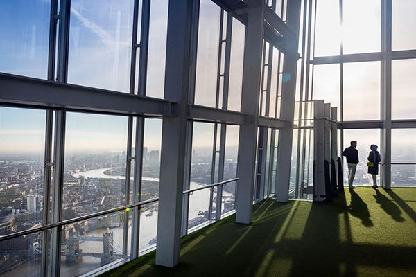 Take a trip up to The Shard Viewing Gallery