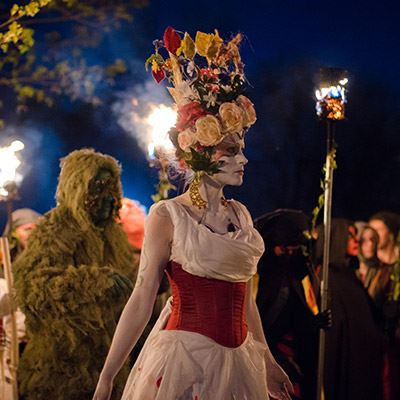 The Beltane Fire Festival draws on a variety of historical, mythological and literary influences
