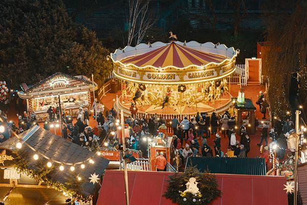 Edinburgh's Christmas markets are magical