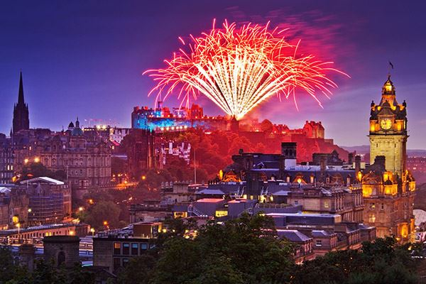 Hogmany is the climax of Edinburgh's winter festivals