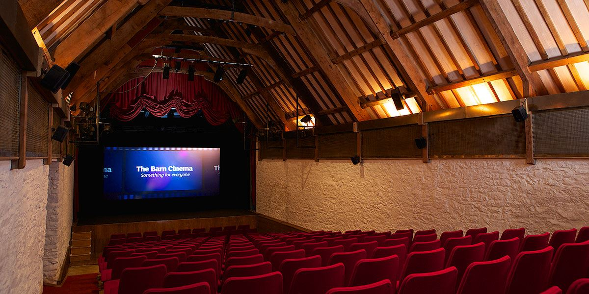 Catch a film in the unique surroundings of the Barn Cinema