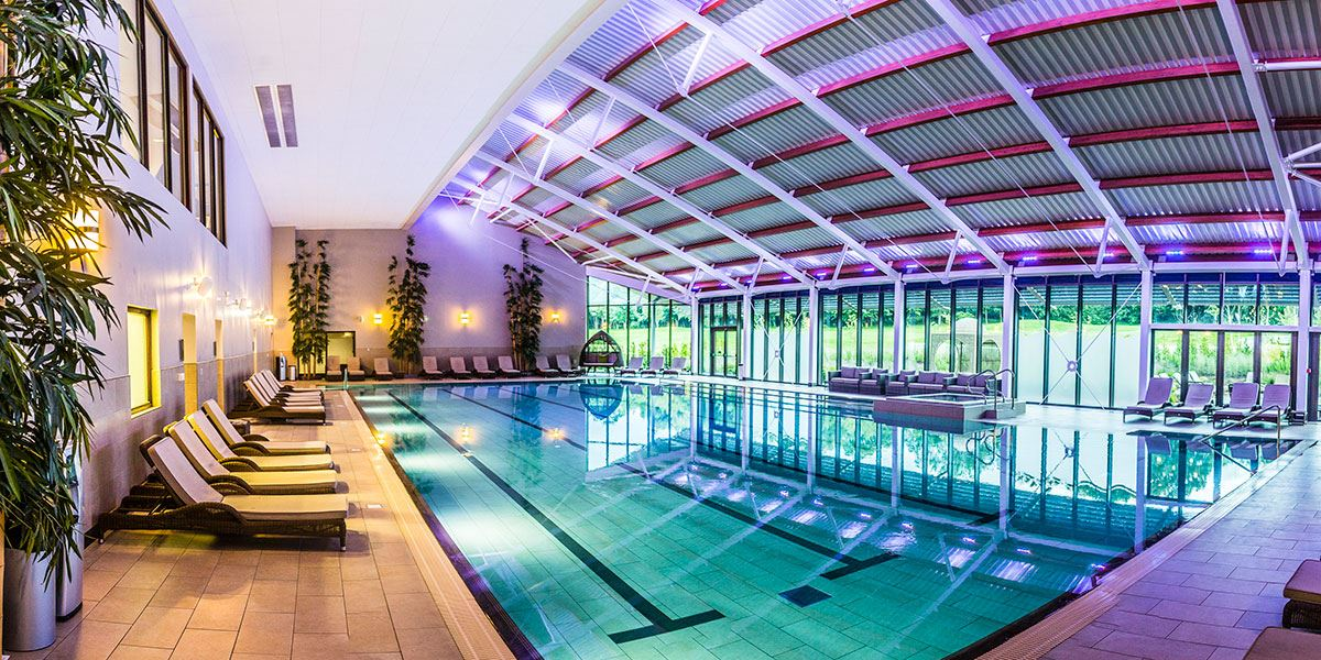 Enjoy one of the largest hydrotherapy pools in the UK at Ramside Hall
