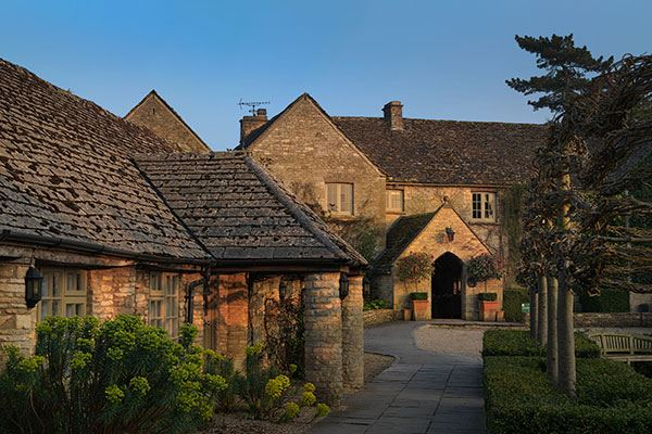 Calcot Hotel & Spa is surrounded by the beautiful Cotswolds countryside