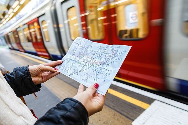 London's tube network is easy to navigate