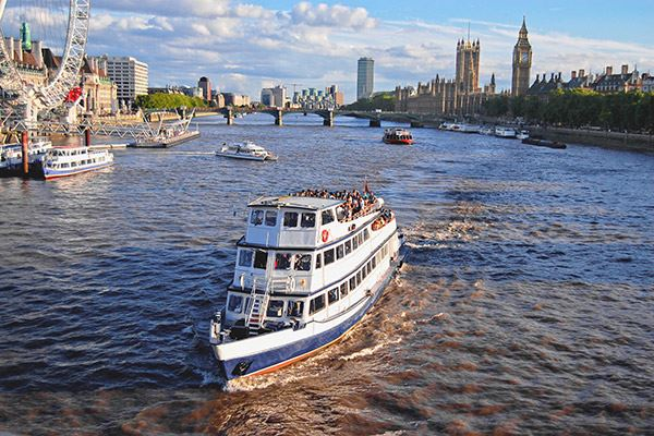 Take a boat ride down the River Thames