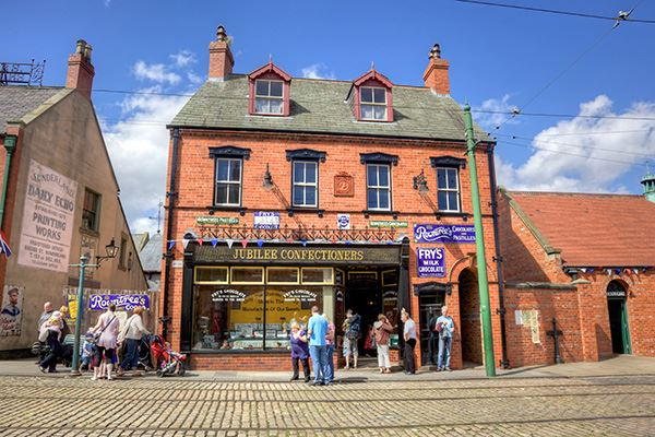 Check out the shops at Beamish