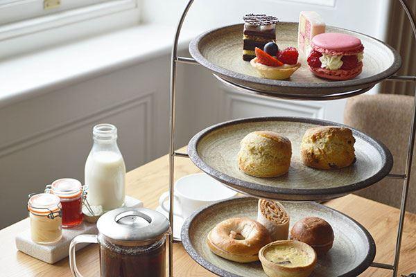 Enjoy afternoon tea at Seaham Hall