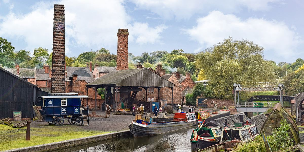 Boat Dock at the Black Country Living Museum