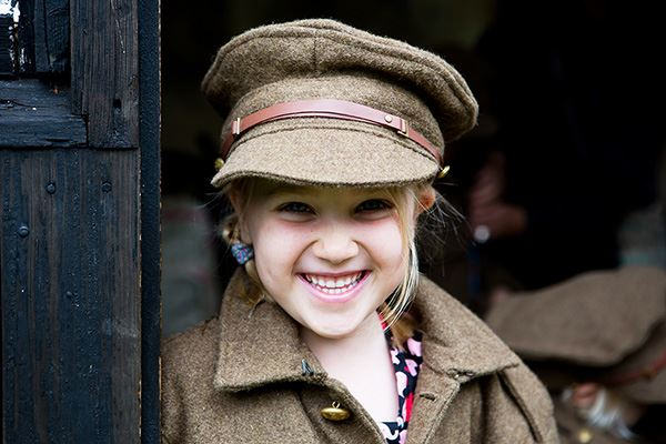 Dress up in RAF uniforms
