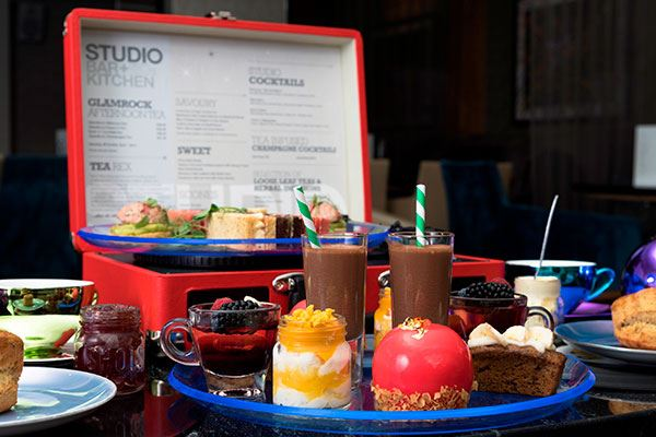 Try out an alternative afternoon tea at the K West Hotel