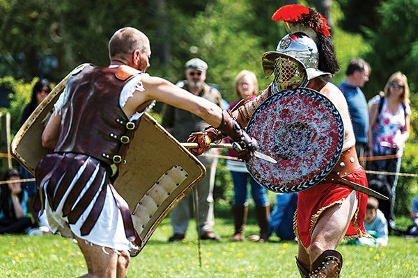 Gladiators at Chiltern Open Air Museum