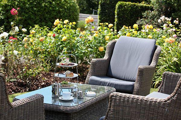 Sample an alfresco afternoon tea at the Alexandra Hotel & Restaurant