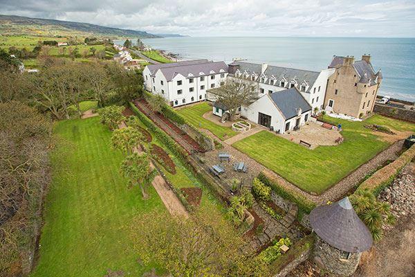 The historic Ballygally Castle Hotel